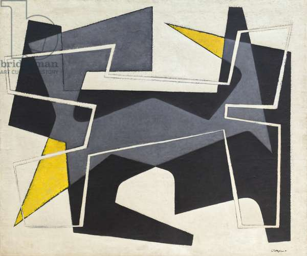 Composition, 1951 (oil on canvas)