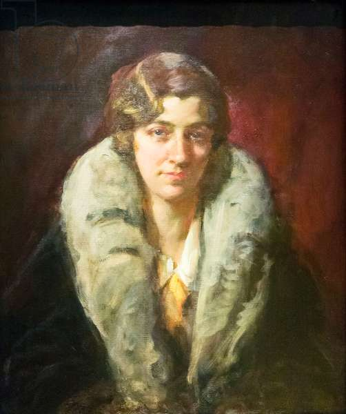 Amy Johnson, c.1930 (oil on canvas)