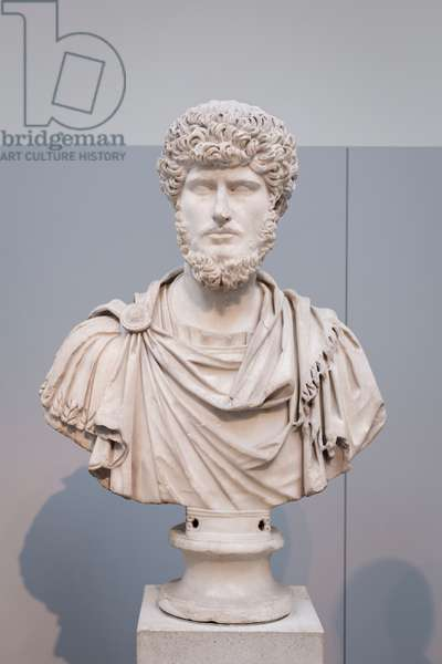 Bust of Lucius Verus, about 161-170 AD