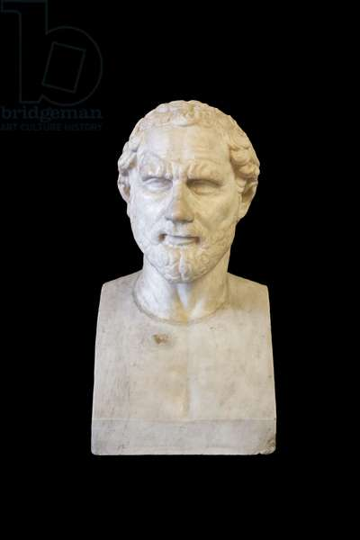 Portrait of Demosthenes (marble)