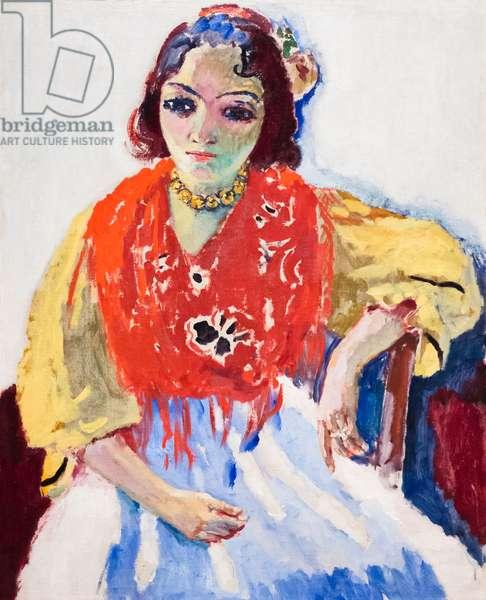 Trinidad Fernandez, 1907 (oil on canvas)