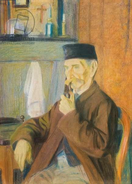 Portrait de monsieur Pautrot, 1908, Gino Severini (pastels)