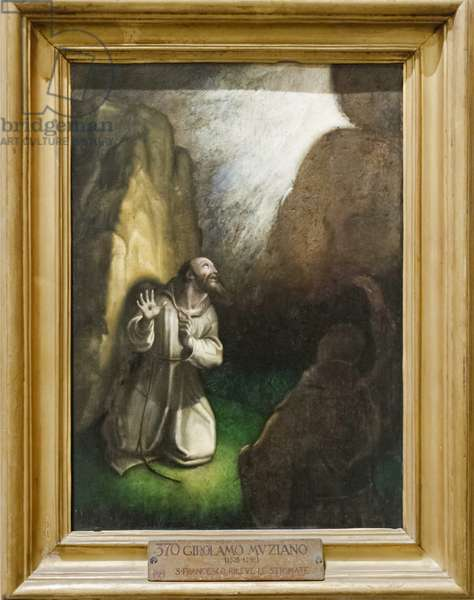 Saint Francis receiving the Stigmata (oil on canvas)
