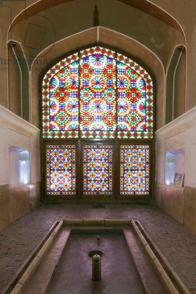 Bagh-e Dolat Abad historic building, Yazd, Iran (photo)