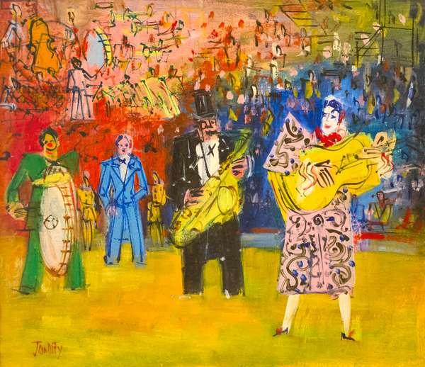 Buffons musicals, Jean Dufy, fine arts museum, Sa'd Abad museum complex, Tehran, Iran