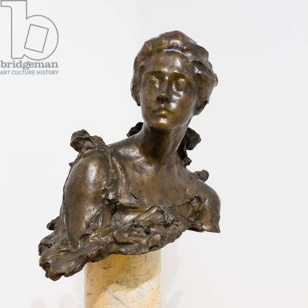 Portrait of Amelie Louise Rives, 1895, Paolo Troubetzkoy (sculpture)