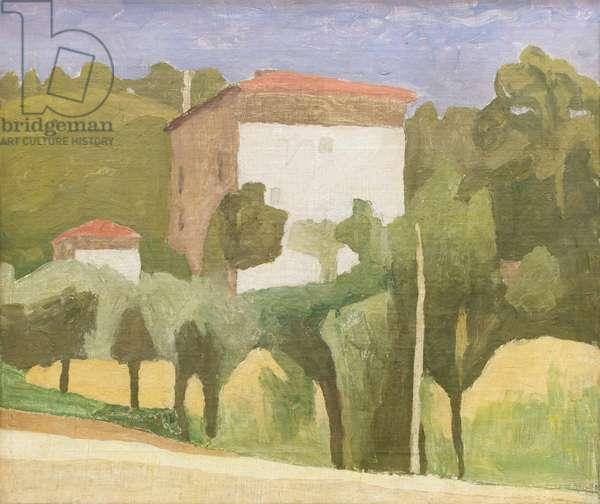 Paese, 1936, Giorgio Morandi (oil on canvas)