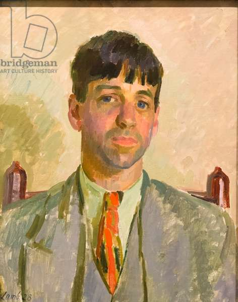 Sir Stanley Spencer, 1928 (oil on canvas)