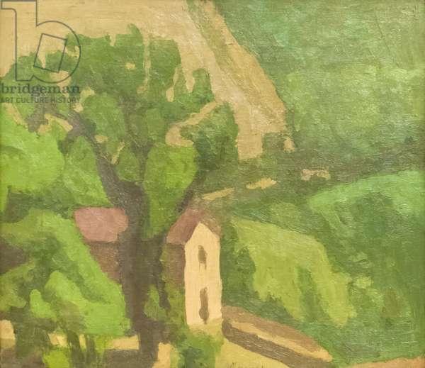 Landscape, 1935 (oil on canvas)