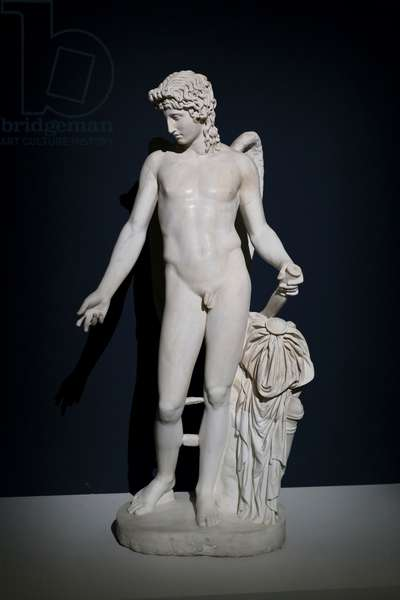 Cupid, centocelle style, 2nd century (marble)