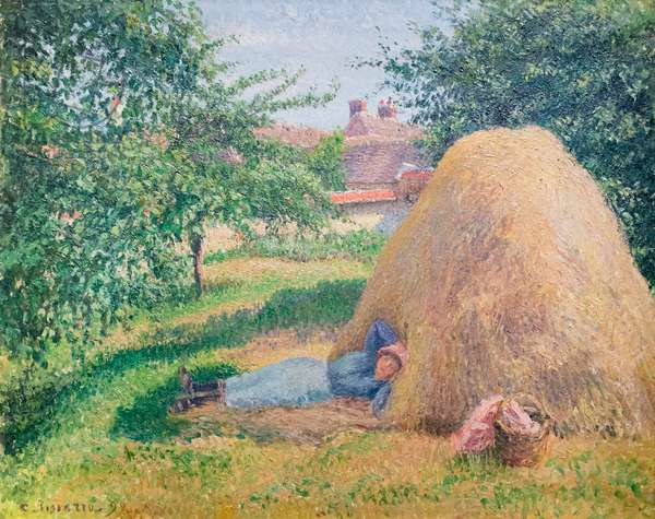 The siesta, 1899 (oil on canvas)