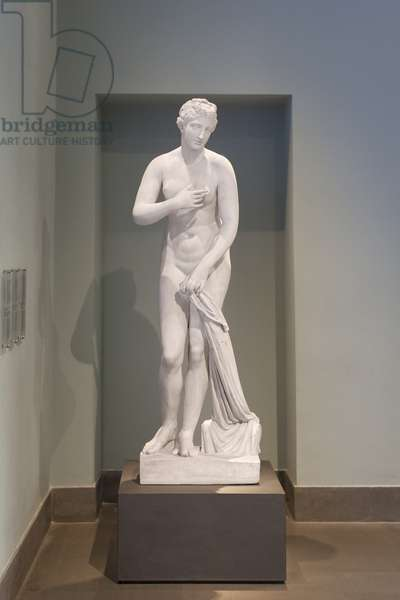 Statue of Aphrodite with the signature of Menophantos, first century BC, national museum of Rome (museo nazionale romano), Rome,  Italy