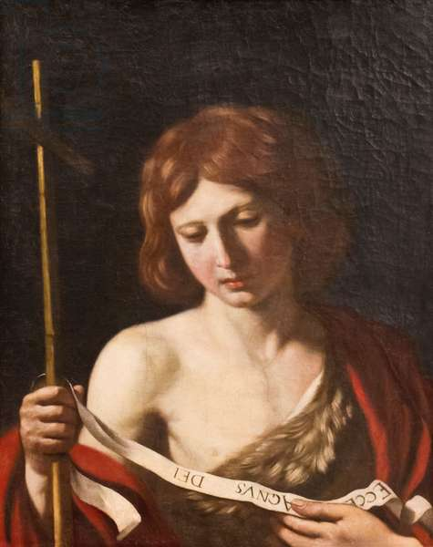 St John the Baptist, 1645 (oil on canvas)