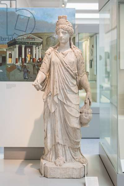 Marble statue of the goddess Isis, 120-150- AD circa