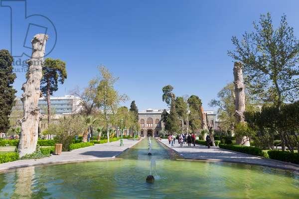 Golestan palace, Tehran, Iran (photo)