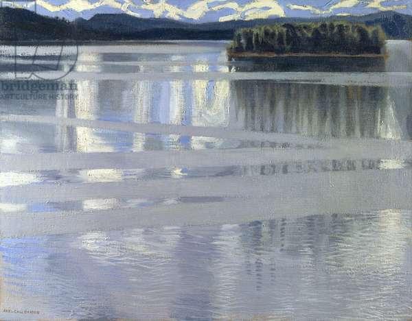 Lake Keitele, 1905 (oil on canvas)
