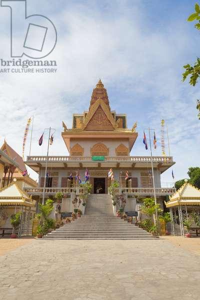 Wat Ounalom, Phnom Penh, Cambodia