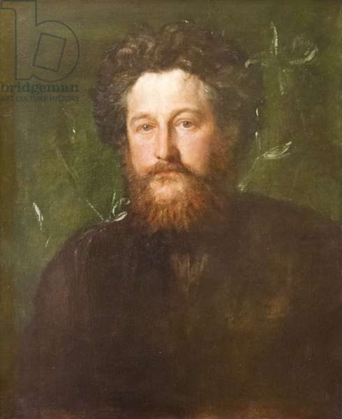 William Morris, 1870 (oil on canvas)
