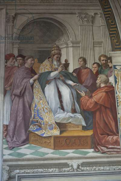 The Delivery of the Decretals to Pope Gregory IX (photo)