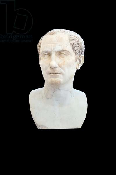 Julius Caesar, 110 AD, after an original from c. 110 BC (marble)