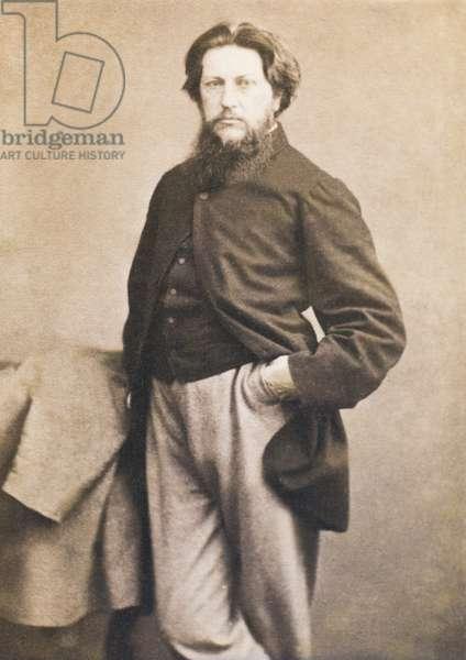 Ford Madox Brown, c.1864 (albumen carte-de-visite)