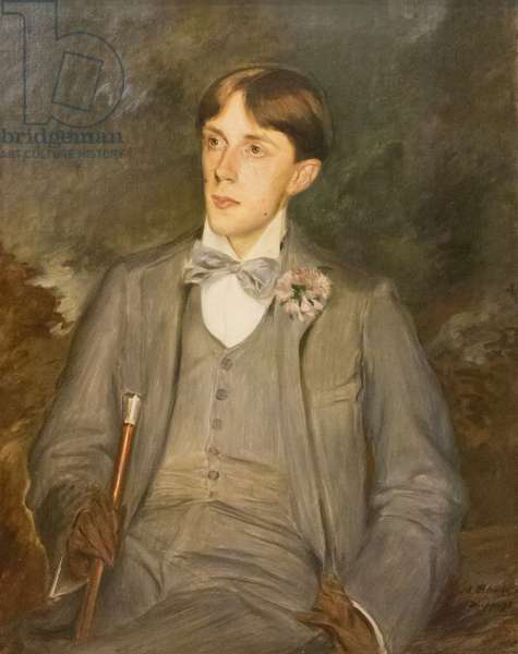 Aubrey Vincent Beardsley, 1895 (oil on canvas)