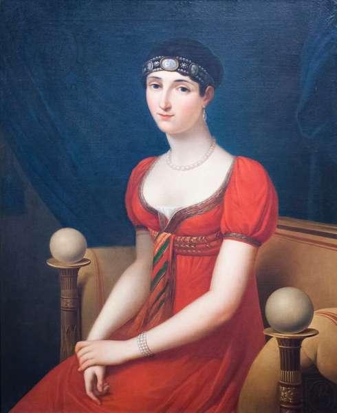 Pauline Bonaparte, 1808, (oil on canvas)
