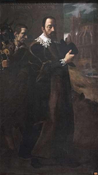 Portrait of Domenico Lanzoni (oil on canvas)