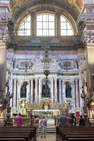 Royal chapel of the treasure of San Gennaro, Naples, Italy (photo)