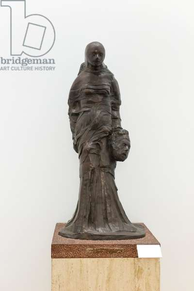 Judith with the head of Holofernes, 1972 (bronze)