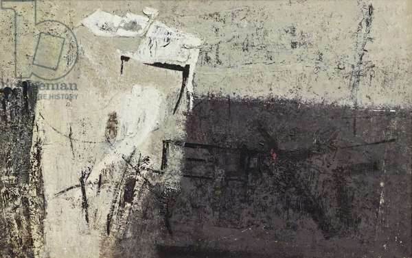 Racconto LS2, 1958 (oil on canvas)
