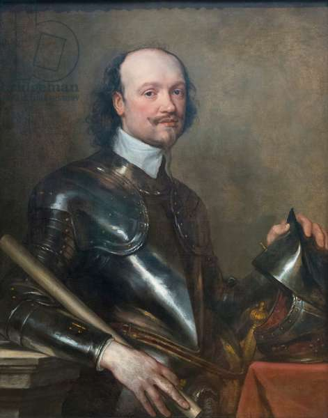 Sir Kenelm Digby, 1640 circa, (oil on canvas)