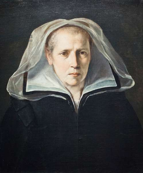 Portrait of mother Ginevra Pucci, 1610 circa, (oil on canvas)