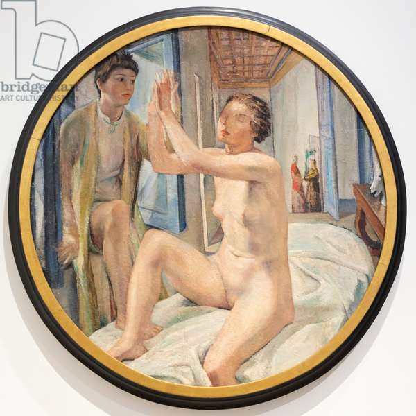 Apparition, the love panel, 1928 (oil on panel)