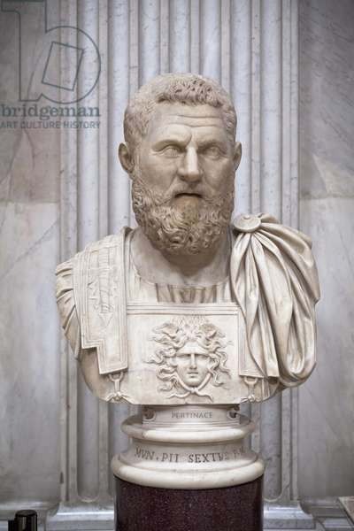 Portrait of Plautianus (marble)