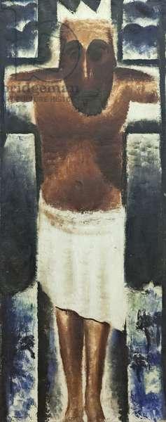 Christ on the Cross, 1929 (oil on canvas)