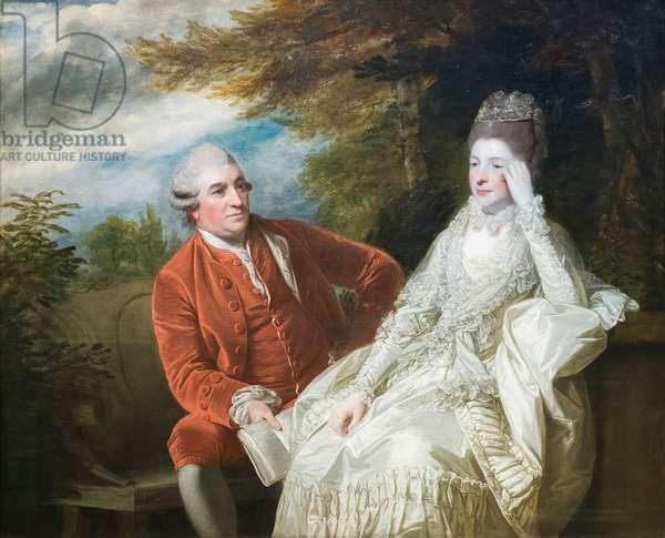 David Garrick and wife Eva Maria Garrick, 1772-73 (oil on canvas)