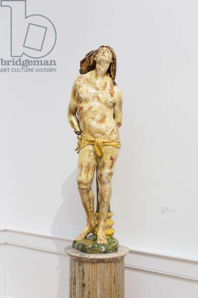 St Sebastian, 1939, Leoncillo (sculpture)