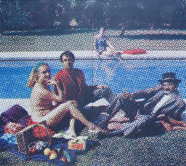 Le dejeuner sur l'herbe, 1964, Alain Jacquet (painting)