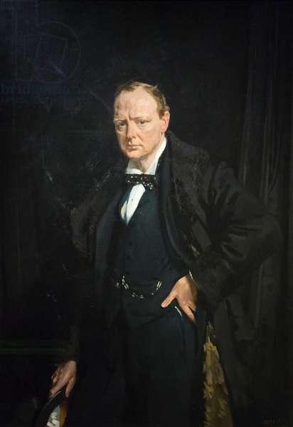 Sir Winston Churchill, 1916 (oil on canvas)
