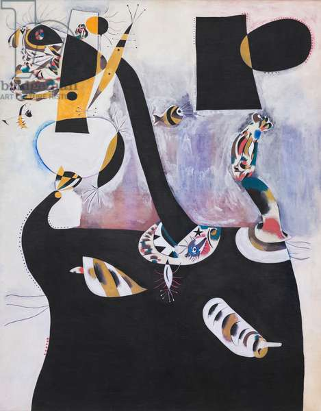 Seated woman II, 1939, (oil on canvas)