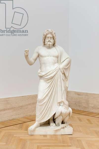 Jupiter, 1838, Pietro Galli (marble)