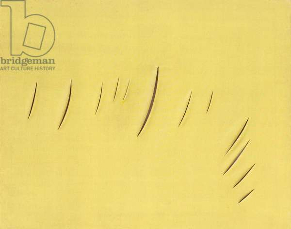 Concetto spaziale - Attese, 1959, Lucio Fontana (painting)