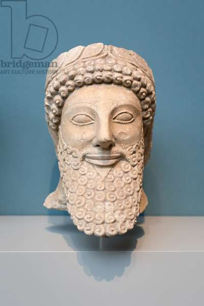 Male worshipper, 500-480 BC