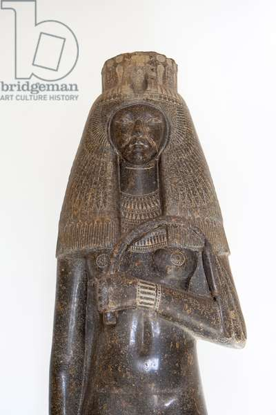 The statue of queen Tuya, 19th dynasty (1279-1213 BC)