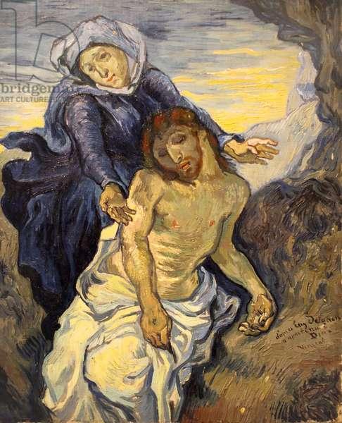 Pieta, c.1890 (oil on canvas)