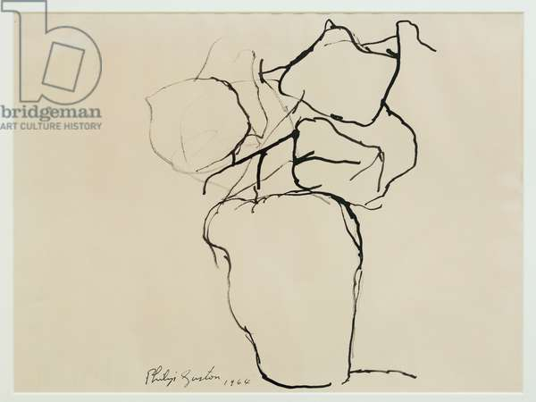 Still life, 1964, (ink on paper)