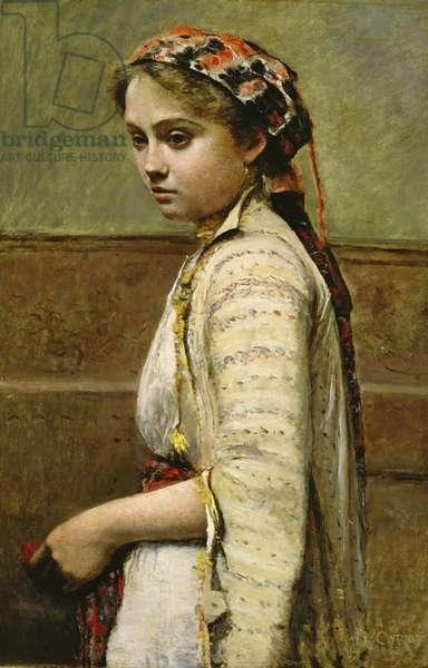 Greek Girl, Mlle. Dobigny, 1868-70 (oil on canvas)