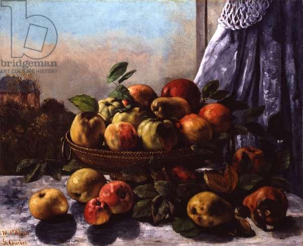 Still Life: Fruit, 1871 (oil on canvas)