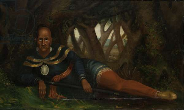Red Jacket; Chief of Seneca Indians, 1830 (oil on wood)
